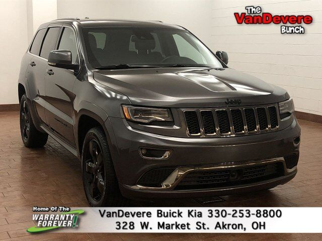 2016 Jeep Grand Cherokee High Altitude Akron OH