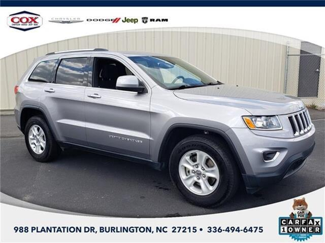 2016 Jeep Grand Cherokee Laredo 4x2 Burlington NC