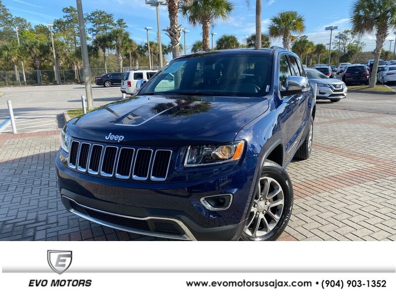 2016 Jeep Grand Cherokee Limited 4X4 Jacksonville FL