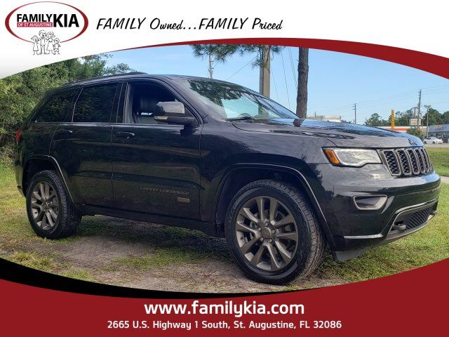 2016 Jeep Grand Cherokee Limited 75th Anniversary St. Augustine FL