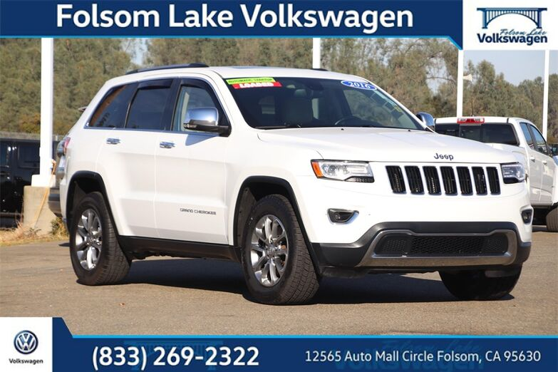 2016 Jeep Grand Cherokee Limited Folsom CA