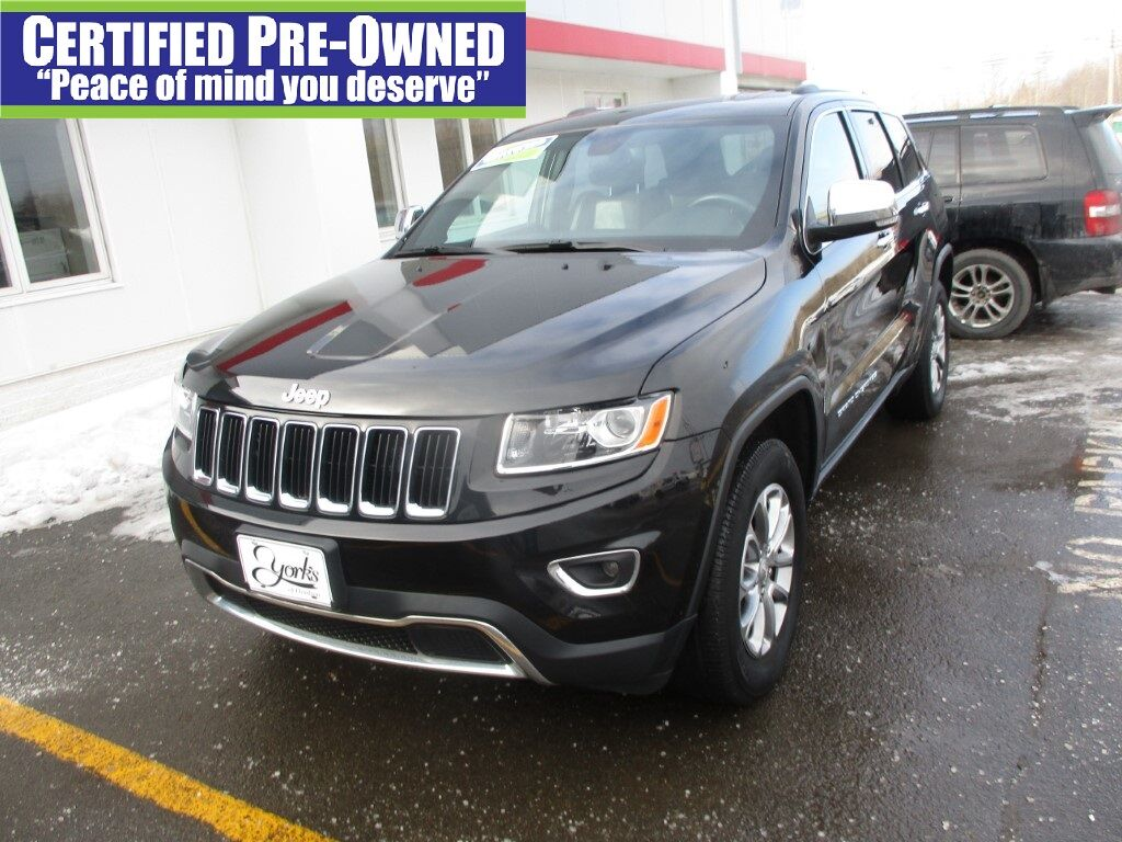 2016 Jeep Grand Cherokee Limited Houlton ME