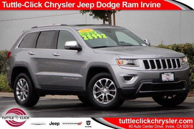 2016 Jeep Grand Cherokee Limited Irvine CA