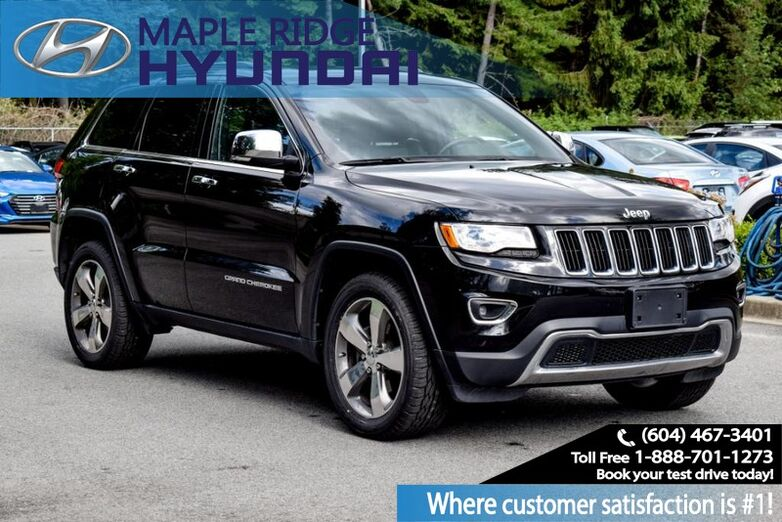 2016 Jeep Grand Cherokee Limited Maple Ridge BC