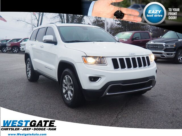 2016 Jeep Grand Cherokee Limited Plainfield IN
