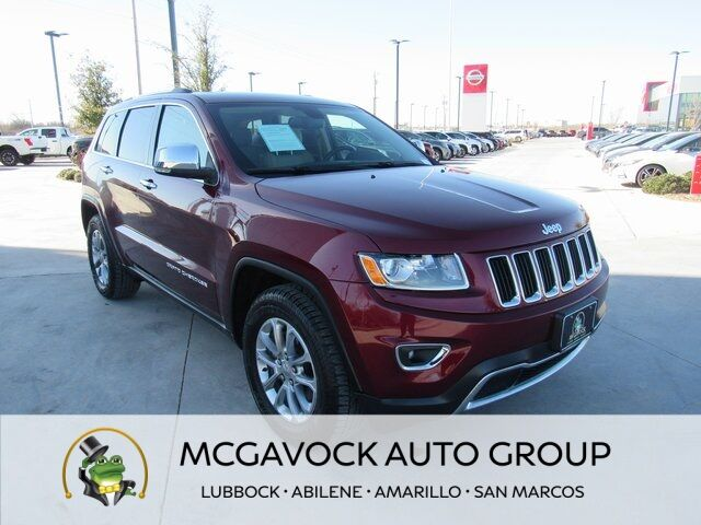 2016 Jeep Grand Cherokee Limited Abilene TX