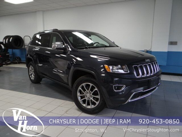 2016 Jeep Grand Cherokee Limited Stoughton WI