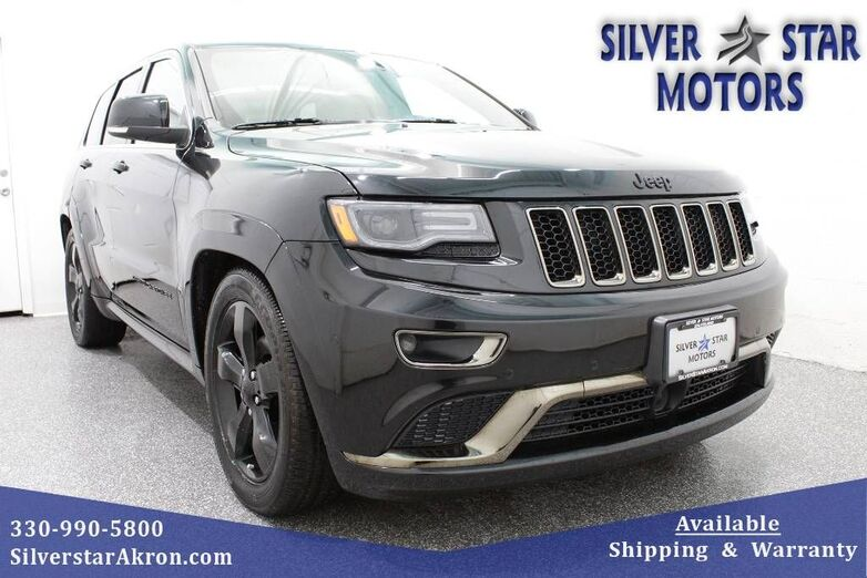2016 Jeep Grand Cherokee Overland - High Altitude Edition Tallmadge OH