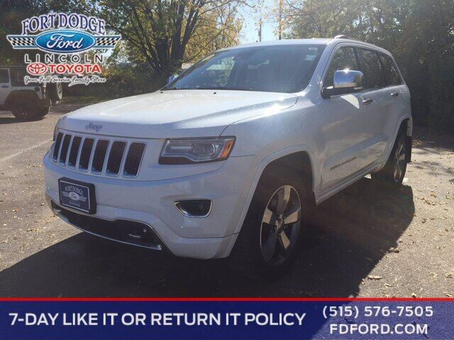 2016 Jeep Grand Cherokee Overland Fort Dodge IA