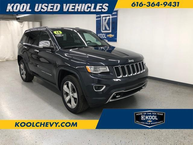 2016 Jeep Grand Cherokee Overland Grand Rapids MI