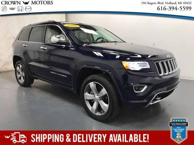 2016 Jeep Grand Cherokee Overland Holland MI