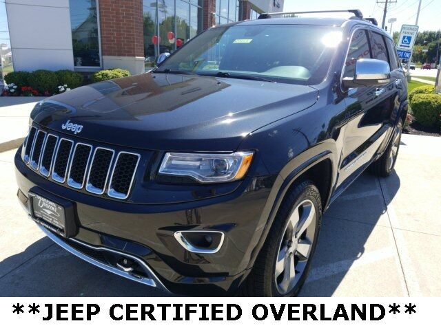 2016 Jeep Grand Cherokee Overland Mayfield Village OH