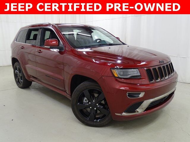 2016 Jeep Grand Cherokee Overland Raleigh NC
