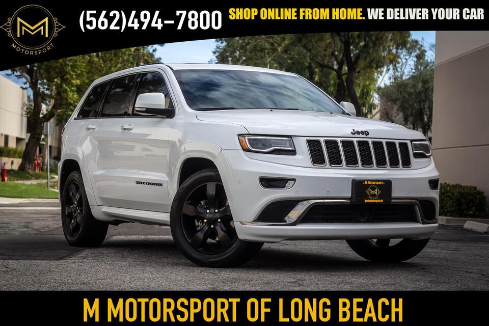 2016_Jeep_Grand Cherokee_Overland Sport Utility 4D_ Long Beach CA