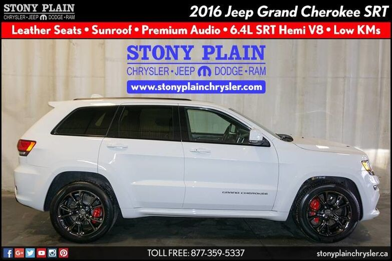 2016 Jeep Grand Cherokee SRT Stony Plain AB