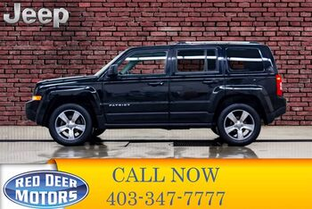 2016_Jeep_Patriot_4x4 High Altitude Leather Roof_ Red Deer AB