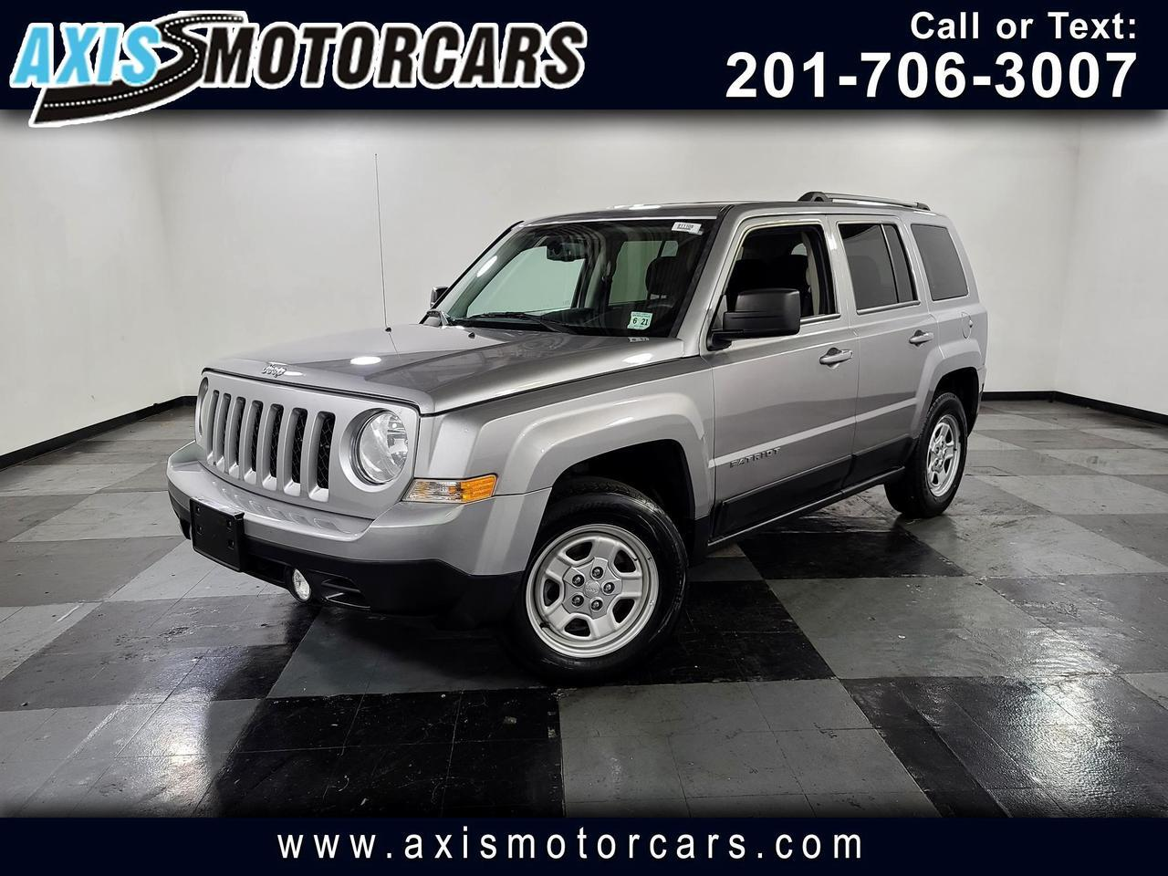 2016 Jeep Patriot FWD 4dr Sport Jersey City NJ