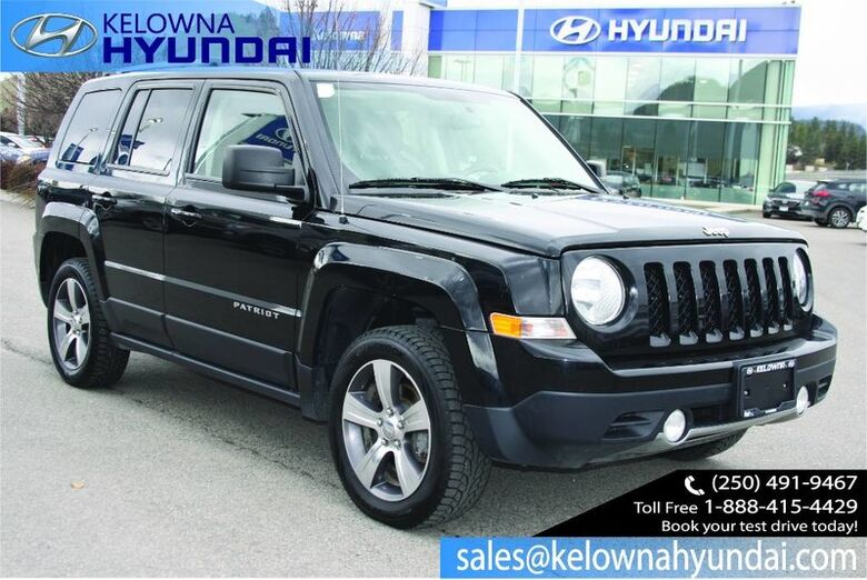 2016 Jeep Patriot High Altitude Leather, Sunroof, Heated front seats. Kelowna BC