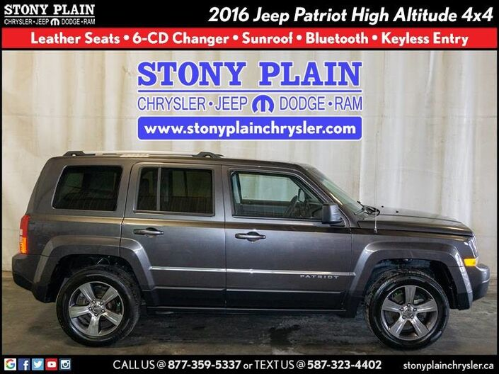 2016 Jeep Patriot High Altitude Stony Plain AB