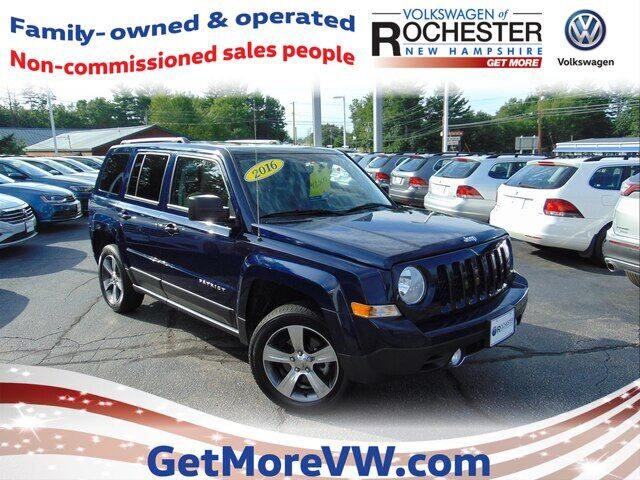 2016 Jeep Patriot Latitude Rochester NH