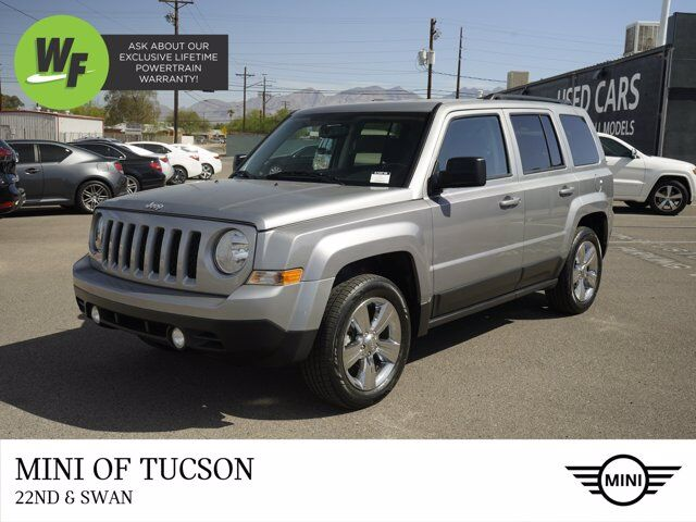 2016 Jeep Patriot Latitude Tucson AZ