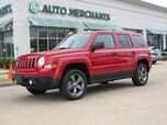 2016 Jeep Patriot Sport 2WD,AUTOMATIC, HEATED SEATS, AC, CRUISE CONTROL, SAT RADIO, LEATHER/CLOTH SEATS
