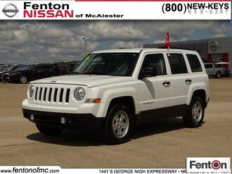 2016_Jeep_Patriot_Sport_ McAlester OK