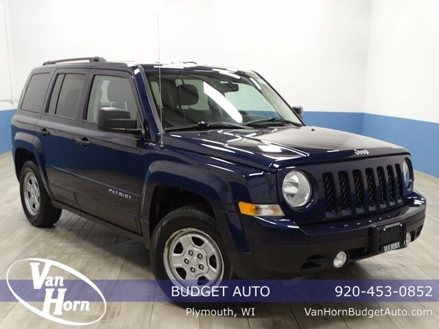 2016 Jeep Patriot Sport Plymouth WI