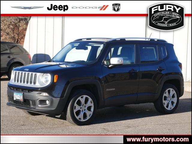 2016 Jeep Renegade 4WD 4dr Limited Lake Elmo MN