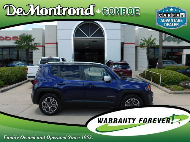 2016 Jeep Renegade FWD 4dr Limited Conroe TX