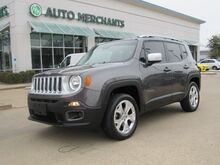 2016_Jeep_Renegade_LIMITED 4-WHEEL DRIVE, SUN/MOONROOF, LEATHER, NAVIGATION SYSTEM, BACK UP CAM, HEATED STEERING WHEEL_ Plano TX
