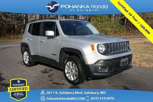 2016_Jeep_Renegade_Latitude 4WD ** Pohanka Certified 10 Year / 100,000  **_ Salisbury MD