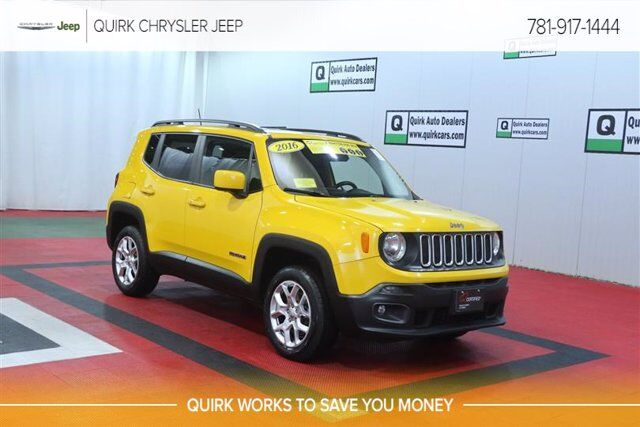 2016 Jeep Renegade Latitude Braintree MA