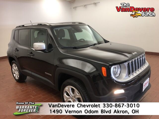 2016 Jeep Renegade Limited Akron