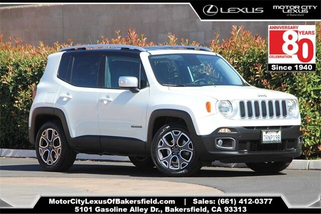 2016 Jeep Renegade Limited Bakersfield CA