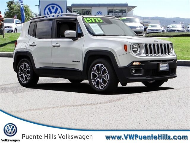 2016 Jeep Renegade Limited City of Industry CA