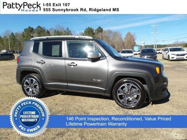 2016 Jeep Renegade Limited FWD Jackson MS