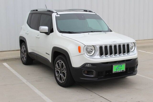2016 Jeep Renegade Limited Paris TX