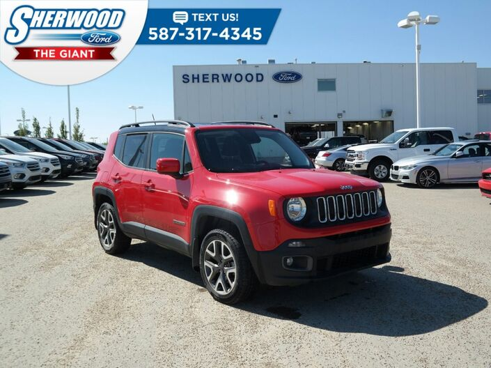 2016 Jeep Renegade North Sherwood Park AB