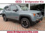 2016 Jeep Renegade Trailhawk 4WD, Remote Start System, Navigation, Rear-View Camera, Blind Spot Monitor, Heated Steering Wheel, Heated Front Seats, Removable Sunroof Panels, 17-Inch Alloy Wheels,