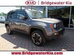 2016 Jeep Renegade Trailhawk 4WD, Remote Start System, Navigation, Rear-View Camera, Blind Spot Monitor, Heated Steering Wheel, Heated Leather Seats, Removable Sunroof Panels, 17-Inch Alloy Wheels,