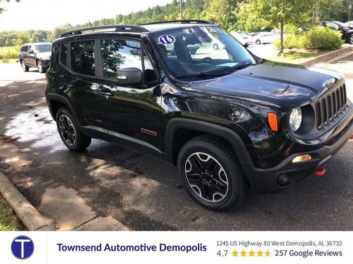 2016 Jeep Renegade Trailhawk Demopolis AL