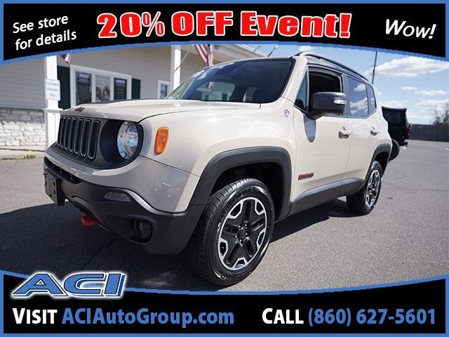 2016 Jeep Renegade Trailhawk East Windsor CT