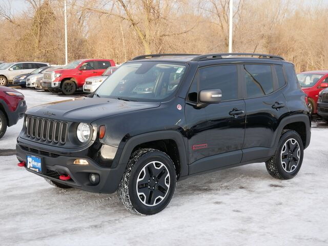 2016 Jeep Renegade Trailhawk Four Wheel Drive