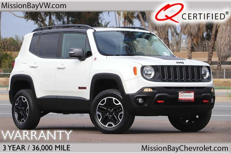 2016 Jeep Renegade Trailhawk San Diego CA