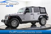 2016 Jeep WRANGLER UNLIMITED RUBICON 4x4 NAVIGATION SOFT TOP ONLY 30K MILES LIKE NEW !!