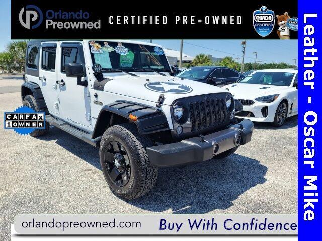 2016 Jeep Wrangler  Orlando FL