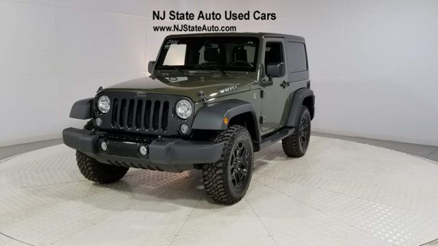 2016 Jeep Wrangler 4WD 2dr Willys Wheeler Jersey City NJ