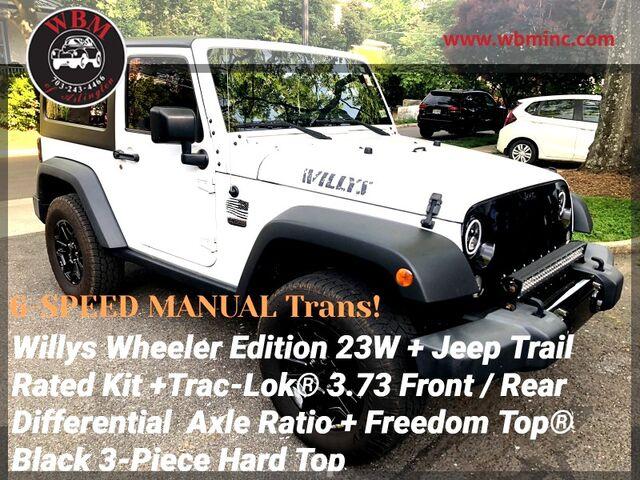 2016 Jeep Wrangler 4WD Willys Wheeler Arlington VA