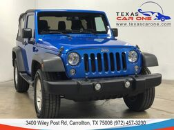 2016_Jeep_Wrangler_SPORT 4WD SOFT TOP CONVERTIBLE BLUETOOTH ALLOY WHEELS RUNNING BO_ Carrollton TX